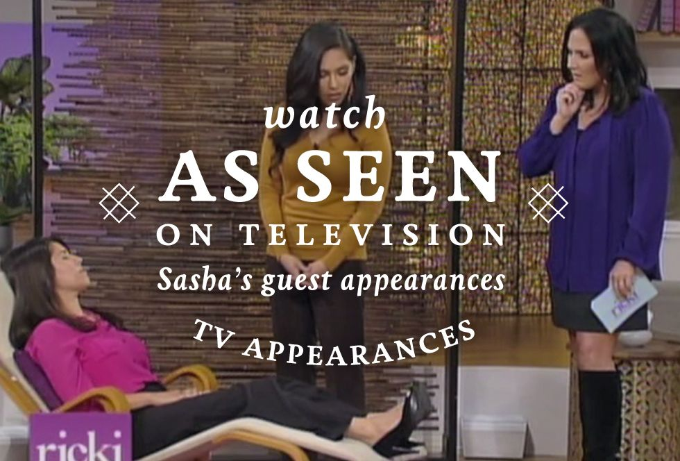 Sasha's guest appearances - Los Angeles Hypnotherapist