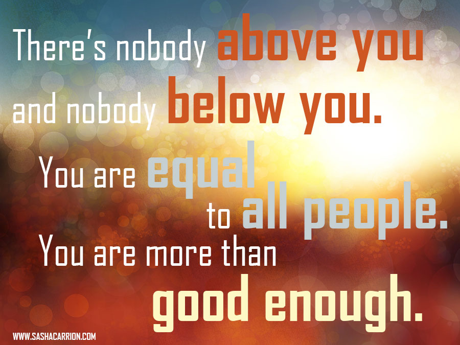 Affirmation: You Are Good Enough