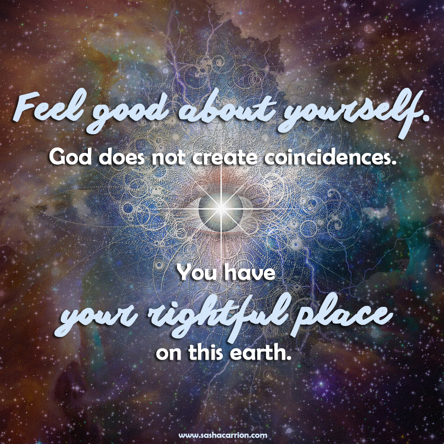 Affirmation: There Are No Coincidences