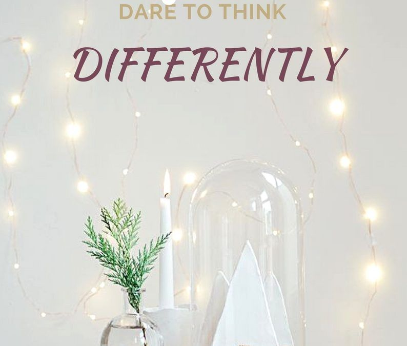 "daring to think different Think different: learner's journey launches at and she urged spring branch staff to ""dare to be different,"" to not ""think different."