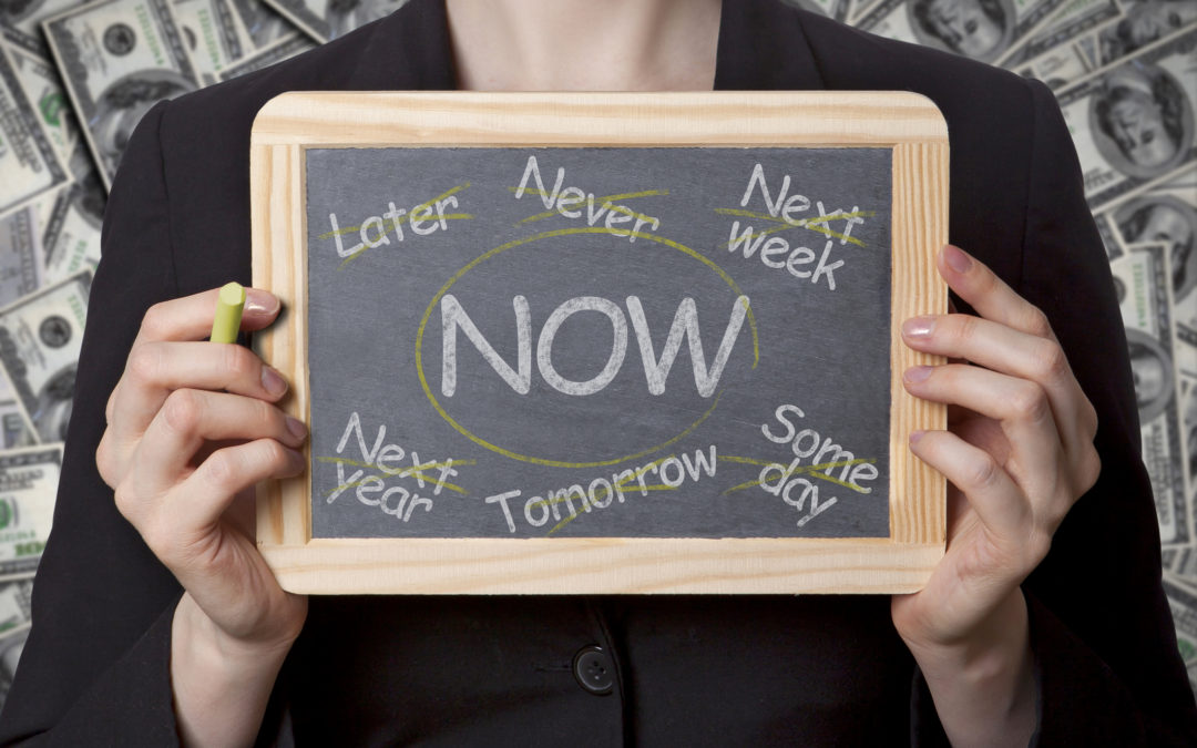 Success Strategies #1:  Stop Procrastinating and Get Things Done NOW
