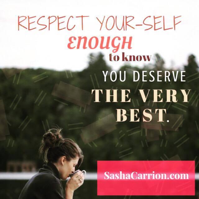 Affirmation: You Deserve the Best