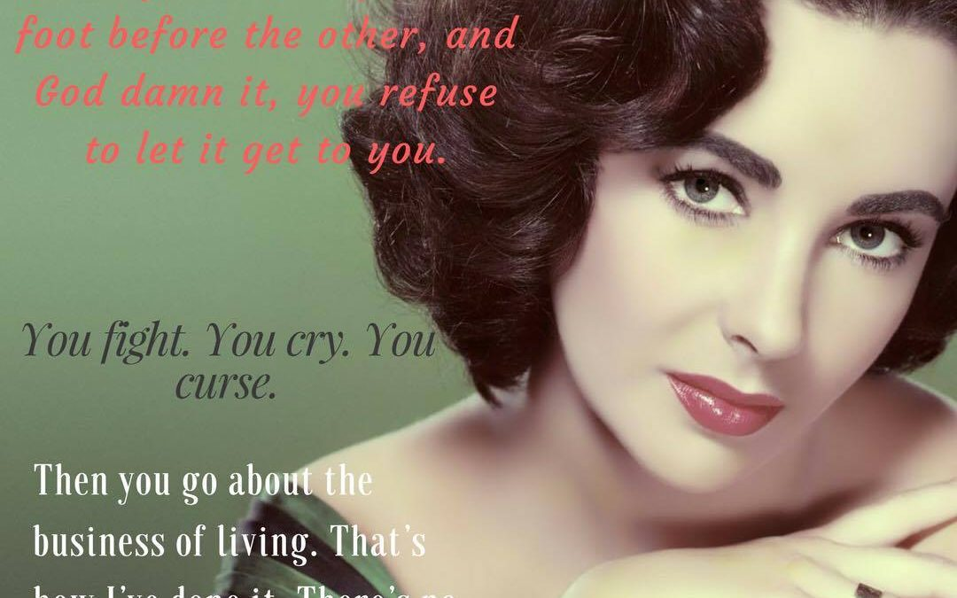 Liz Taylor Quote for Reaching Your Goals