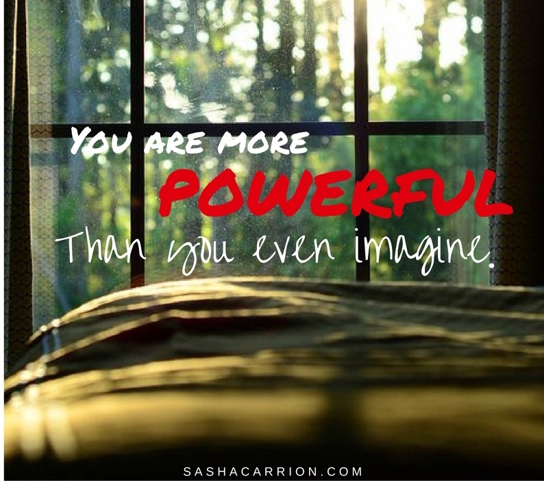 Affirmation: You are powerful