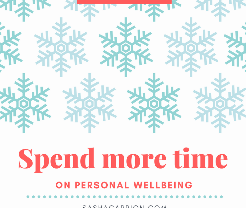 Your Wellbeing is Very Important